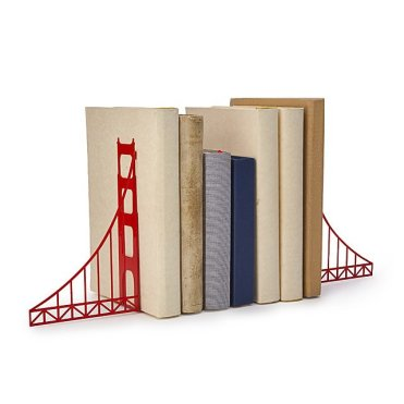 naturally the golden gate bookends is one I'd be sending to a friend who's relocated away from home being San Francisco