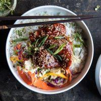 Food: Dinner Tonight - Korean Sticky Chicken