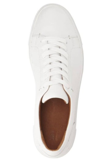 frye ivy sneakers in white- need I say more?