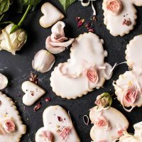 Food: You Had Me at Rose, Lemon, Shortbread Cookies