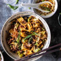 Food: Dinner Tonight - Szechuan Noodles with Chicken