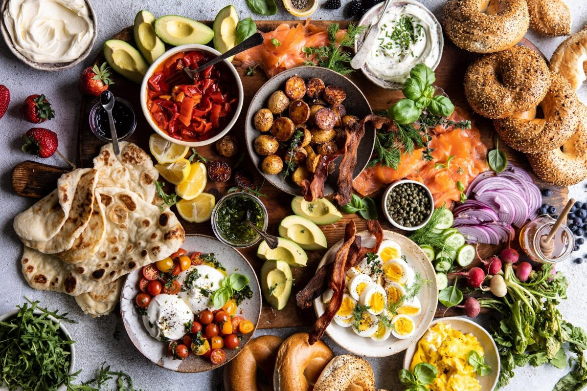 Food: Brunch Board Spread