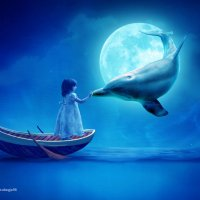 Dreams of Dolphins Swimming