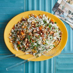 rice-with-parsley-almonds-and-apricots