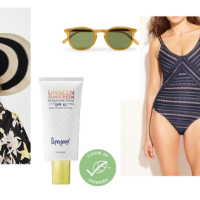 Summer Swimsuits and Sunscreens and Oh That Hat
