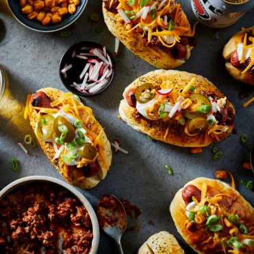Chili hot dogs - once a month