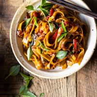 Food: Thai Chicken and Noodles