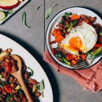 Food: For Anytime Meal - Eggs, Sweet Potato Hash