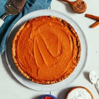 Food: Vegan Pumpkin Pie